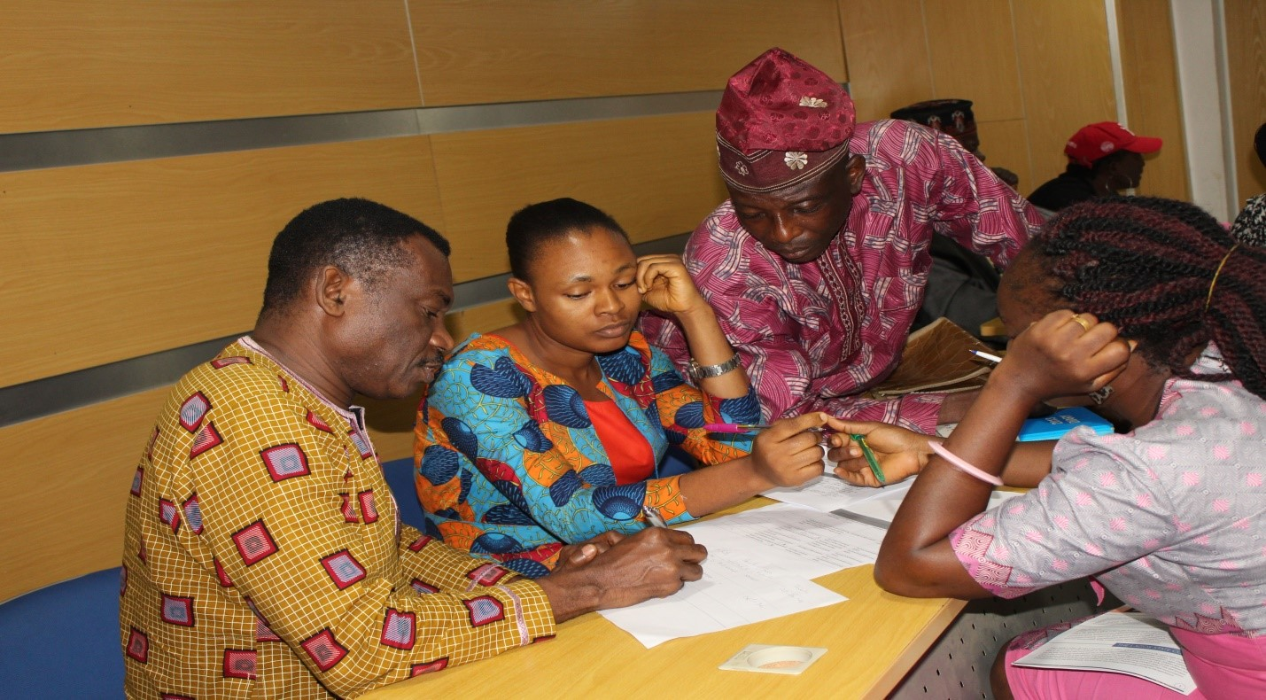 Reviewing the Costed Implementation Plan for Routine Immunization in Lagos State.