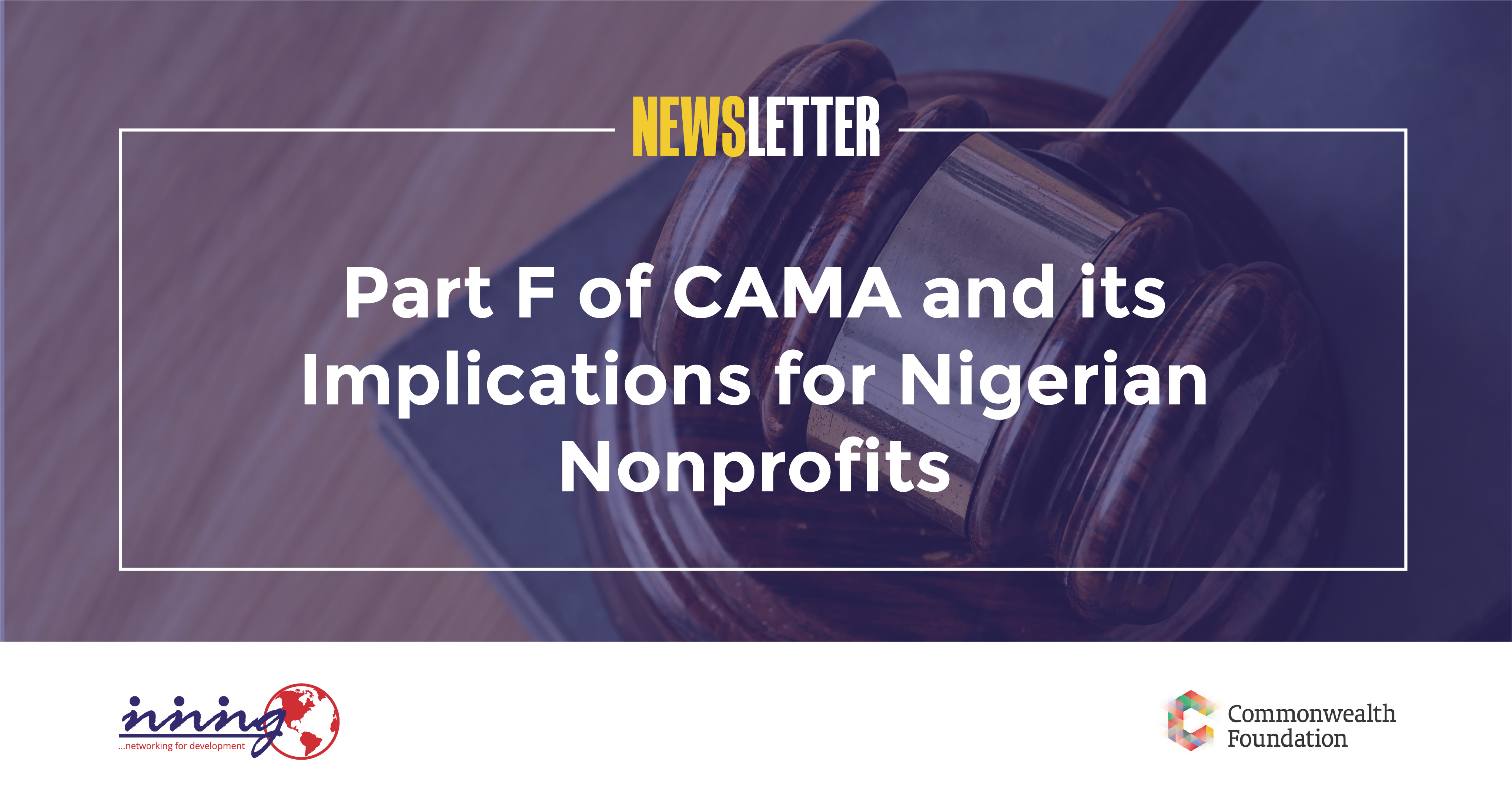 Part F of CAMA and its Implication for Nigerian Nonprofits (January, 2019)